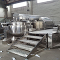 Vacuum emulsifying machine Fully automatic vacuum mixer