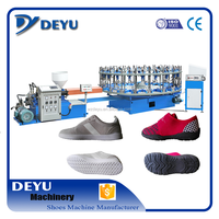 Popular Semi-Auto TPR And PVC Shoe Making Rotary Sole Injection Moulding Machine Price