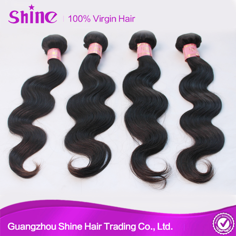 best quality body wave 100% indian remy virgin human indian hair trade