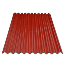 2017 free sample ecological coating water proof material plastic pvc profile roofing panel