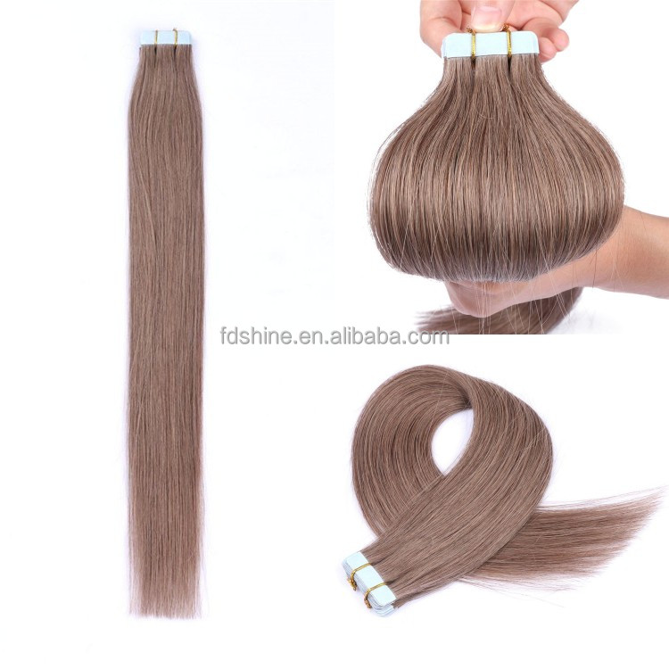 no tangle no shedding 8# tape hair extensions,fast shipping european straight tape human hair extensions