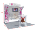 small package but high quality trade show booth exhibition system