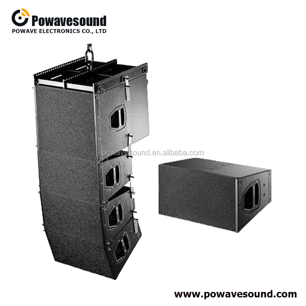 LA-2210P powavesound line array speakers double 10 inch <strong>q1</strong> style active mini type empty line array box