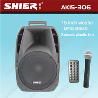 AK15-306 hot new products for 2014 bluetooth subwoofer speaker