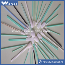 Eco-friendly polyester cleanroom swab for medical use