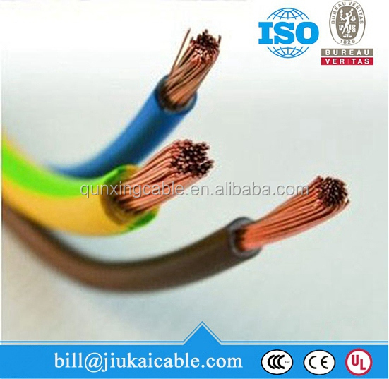 300/300v 450/750v waterproof PVC insulated electrical wire coating
