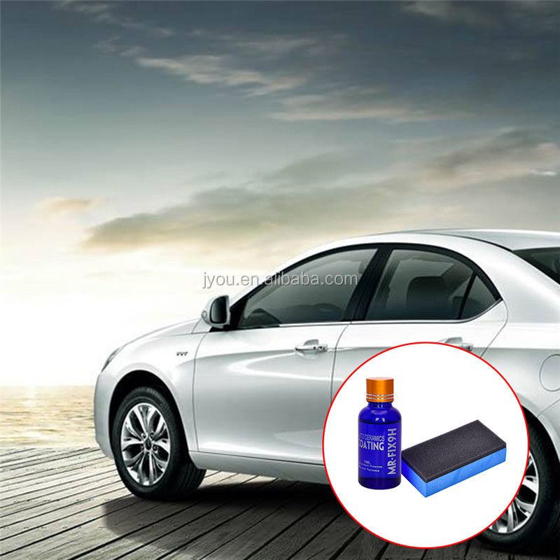Nano ceramic car liquid coating and hydrophobic glass coating 30ML 9H nano car/ceramic SiO2 coating OEM/ODM Promoting