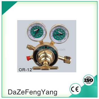 Victor AR-12 OR-12 oxygen and acetylene gas regulator