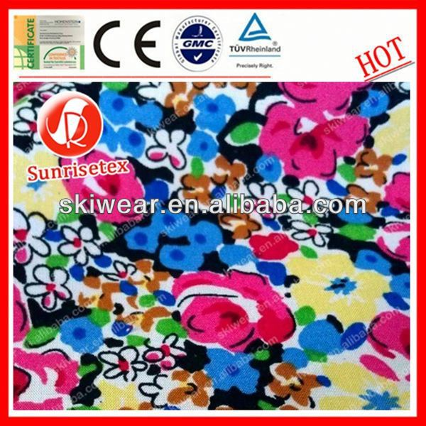 various pattern vietnam silk fabric made in china