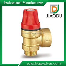 yuhuan manufacturer low price forged 3/4 inch CuZn35Pb1 brass lpg safety valve