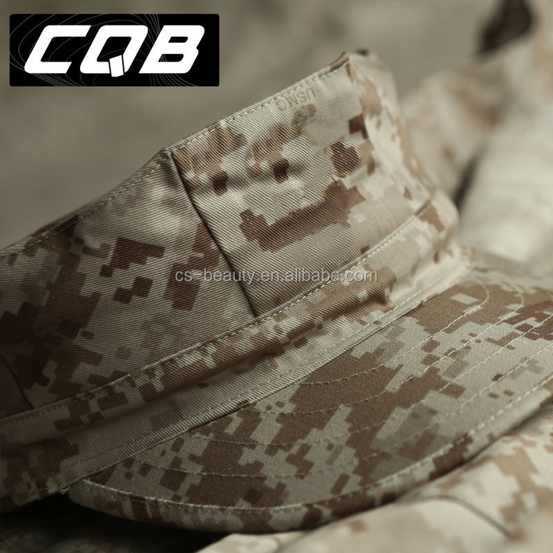 OEM Multi Colors Camouflage Octagonal Cap, Military Soldier Tactical Hats, Digital Desert Camo Cap