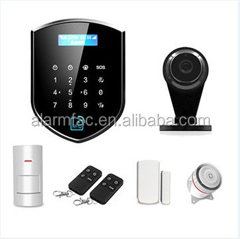 NEW Wifi 3G GPRS smart wireless GSM home burglar alarm system with Apps