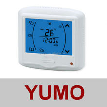 AC210 Series digital Touch Screen Room Thermostat (Euro Power Unit)