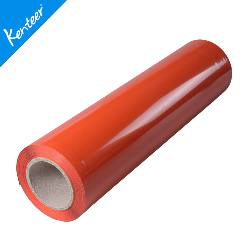 Kenteer new design high quality PU adhesive heat transfer vinyl for clothing