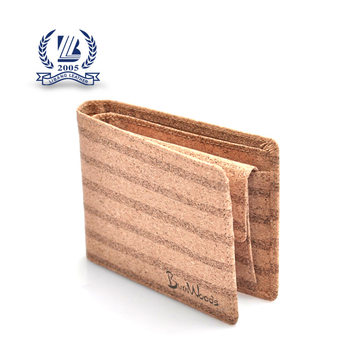 2017 fashion trends wallet purses cork wooded popular man purse