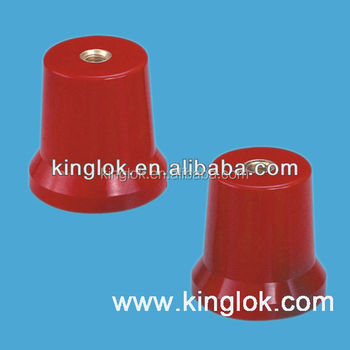 red or black round insulators Standoff busbar insulator