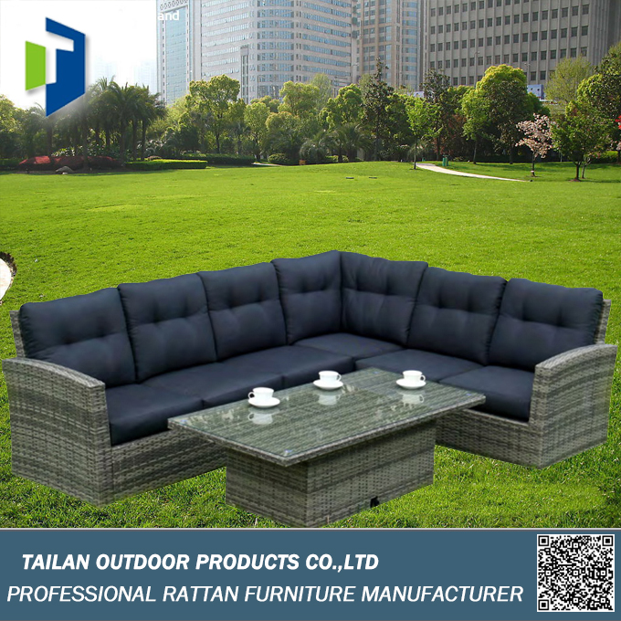 Modern large sectional sofa made-in china, sofa set specifications
