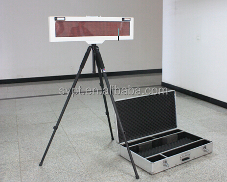 12v portable display screen, tripod, rechargeable battery, 12v display screen