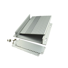 silver brushed aluminum foil aluminium junction box with drilling