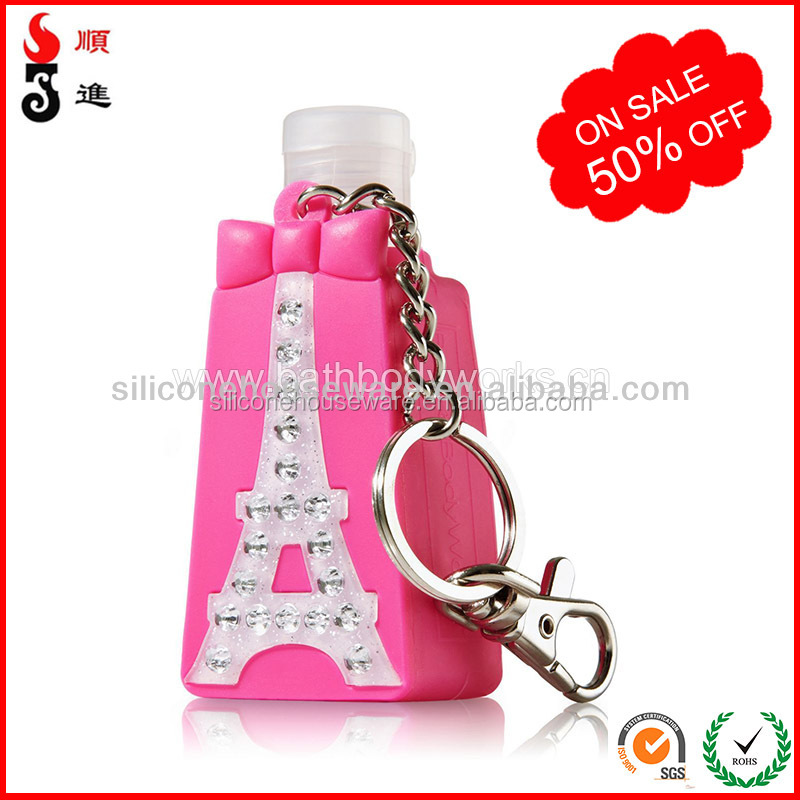 Wholesale bulk anti-bacterial alcohol free hand wash sanitizer gel for cute silicone holder