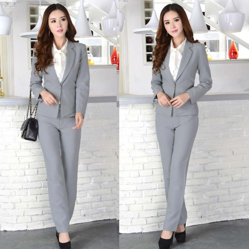 WA6001 spring OL professional european women suits