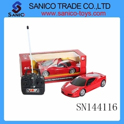 4 Channel Remote Control Simulation Car Toys, 1:18 scale car,R/C Car toy