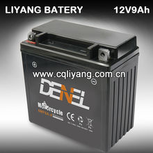 6MF9A-4 Motorcycle MF Battery Comes in Dry-charged Type 6MF-9A-4