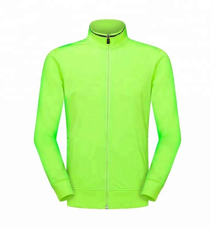 2019 High Quality  100%Polyester  Soccer Sportswear Jacket Without Logo