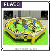 2015 Inflatable wipeout for sale , Inflatable climbing park, Outdoor Sport Inflatable Obstacle Course