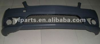 New W204 perfect complete front bumper assy