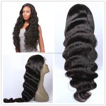 100% Virgin Malaysian Remy Human Hair Silk Top Full Lace Wig Any Silk Base Size and Different Cap Construction As Your Request