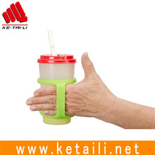 Sippy cup/bottle cuff widely using silicone easyhold OEM band