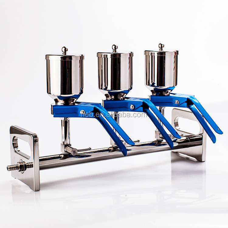 300ml Stainless Steel Manifolds Vacuum Filtration