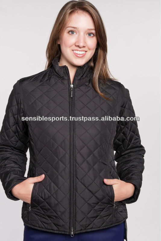 Winter quilted jacket / puffy paded jacket