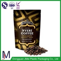 custom printed new interesting products food packaging green coffee bean