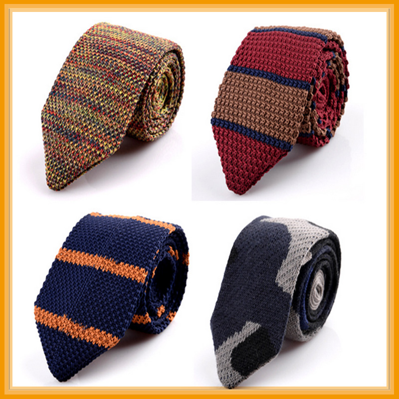 Men's fashion knitted tie