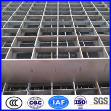 Stainless steel high banded ends parking lots grating