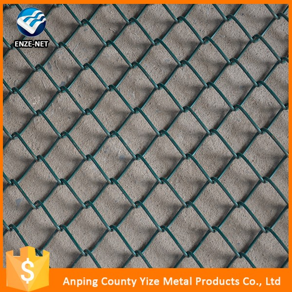 Alibaba china cheap hot dipped galvanized chain link temporary dog fence panel ( Factory Manufacture )