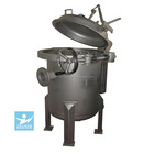 high flow and quick open stainless steel bag filter housing suitable for water treatment and other industies
