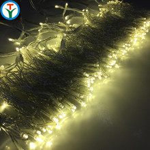 Connectable Led curtain string light icicle wall stage 2x1.4m 280 Led Christmas light for Wedding home decor