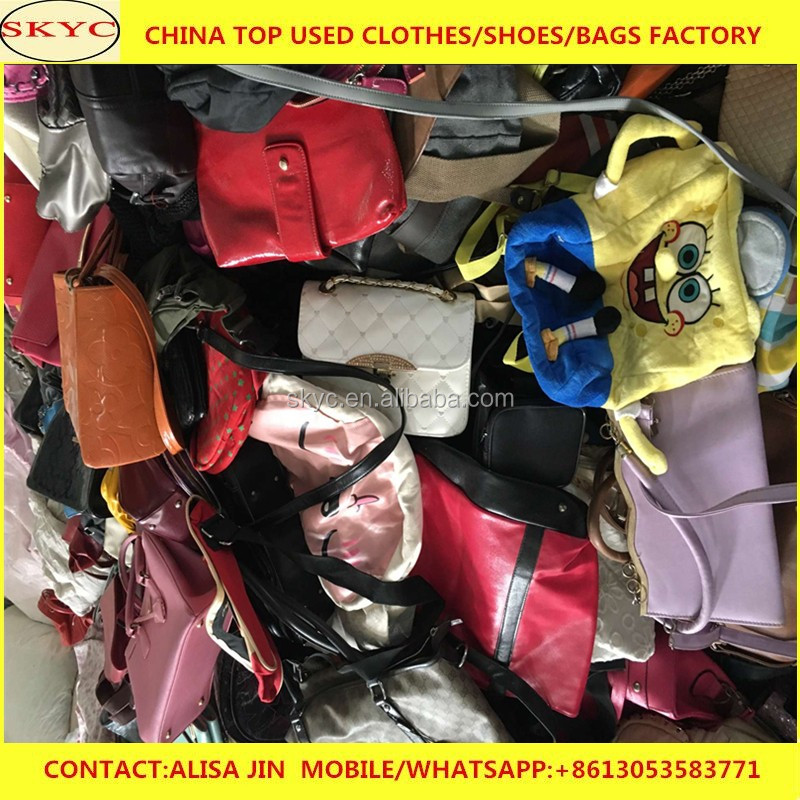 cheap used bags stock in China warehouse
