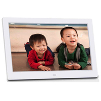 "10"" white mp4 digital picture frame"