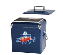 outdoor stainless steel ice cooler box with plastic inner
