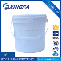 5 gallon packaging plastic fishing bucket animal feed bucket with lid