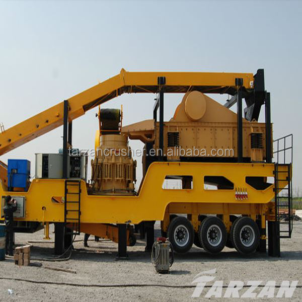 New technology mobile screening plants used in mining