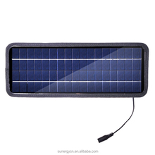 2015 Hot sale new products 18V 4.5W solar panel battery charger for charge 12V car battery and mobile phone
