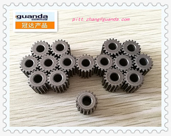 small sintered gears for money-counting machine by powder metallurgy
