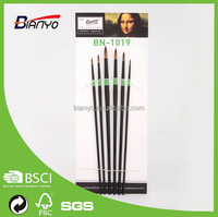 Professional High Quality Nylon Hair Round Paint Brush/Brush Set/Art Brush set