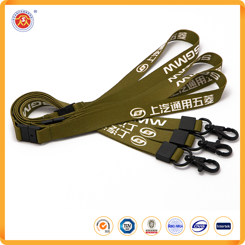 Custom logo cheap usb drive neck lanyard for promotional gifts