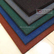 Outdoor playground rubber floor mats tiles